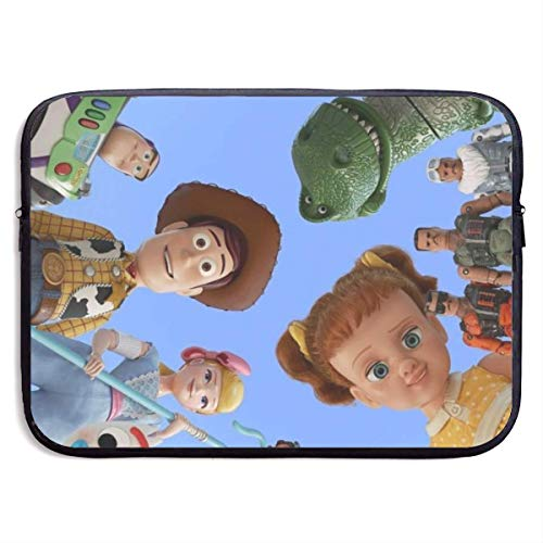 Hdadwy T-oy St-ory Family Laptop Sleeve Waterproof Bag Case Briefcase Compatible with MacBook Air/Notebook 15 inch