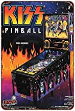 Kiss Pinball pro Model Vintage ad Reproduction Metal Sign 8 x 12