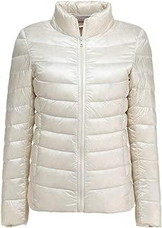 Women's Ultra Light Weight Outdoor Coat Packable Outwear Puffer Down Jacket