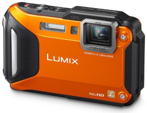 Panasonic DMC-FT5EG9-D Lumix Digitalkamera (7,5 cm (3 Zoll) LCD-Display MOS-Sensor, 16,1 Megapixel, 4,6-fach opt. Zoom, microHDMI, USB, bis 13m was...
