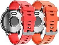 コンパチブル Ticwatch 2 / C2 (20mm) / E スポーツ時計バンド Classicase 交換バンド (20mm, 2PCS G)