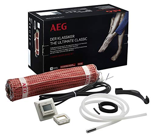 AEG Haustechnik 234277 TBS TB 50 160/1 elektrische Fußbodenheizung THERMO BODEN Basis Set, rot, 1 m²