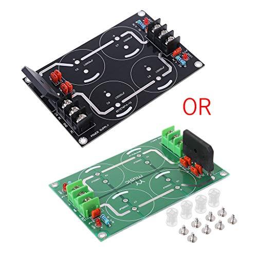 Ycncixwd Dual Power Gleichrichter Filter Netzteil Modul Leere Platine Für TDA8920 LM3886 TDA7293 Verstärker