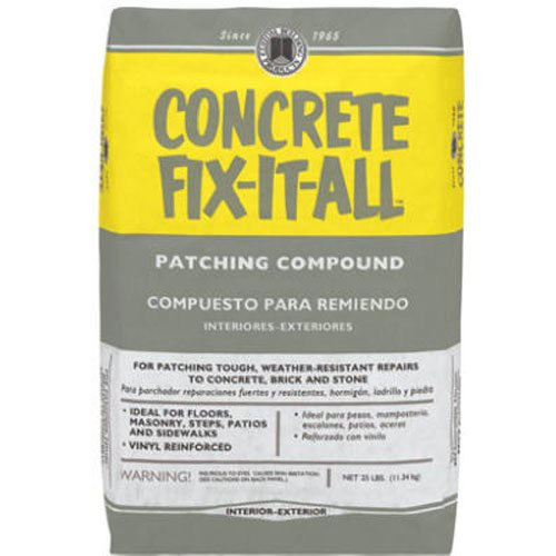 Custom Building Products DPCFL25 Concrete Fix-It-All Patching Compound, 25-Pound
