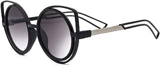 GLJJQMY Cat Ears Sunglasses Personality Girls Kawaii Color Film Sunglasses Women's Sunglasses (Color : Gray)