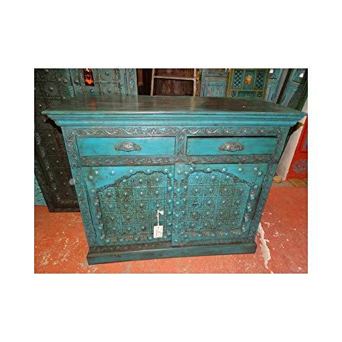 int. d'ailleurs - Buffet Indio Antiguo con Puertas arqueadas
