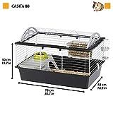 Zoom IMG-1 ferplast gabbia per conigli casita