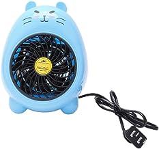 Yuan Dun'er Calefactor Aire Caliente baño,Mini Calentador eléctrico pequeño Ventilador Calentador de Oficina en casa Calentador eléctrico