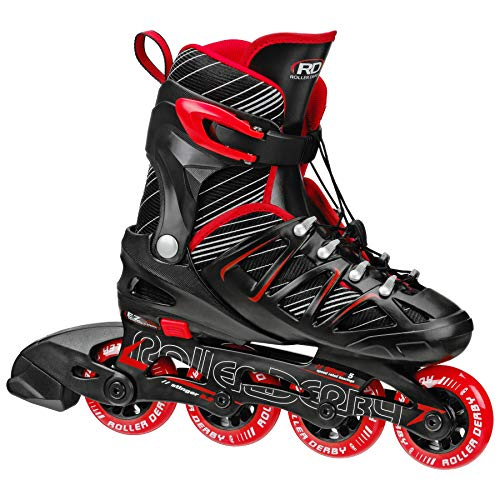 Roller derby boy's stinger 5. 2 adjustable inline skate, small