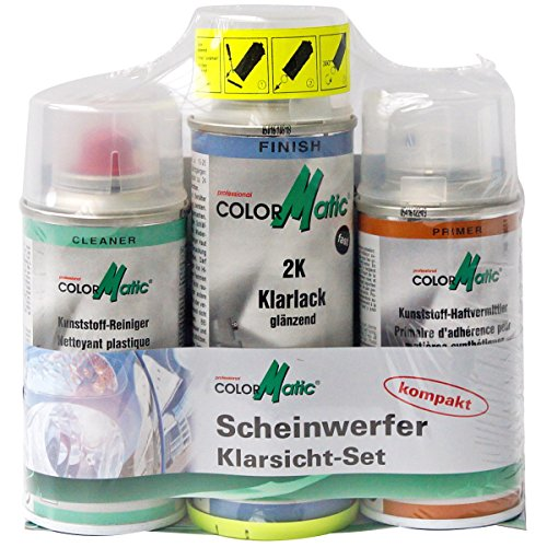 COLORMATIC 444258 Scheinwerferaufbereitungs-Set