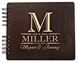 Soon to Be Mr. and Mrs. Guest Book Custom Engraved Wedding Favor Couple Photo Booth Album for Bride Groom (8.5'x7)