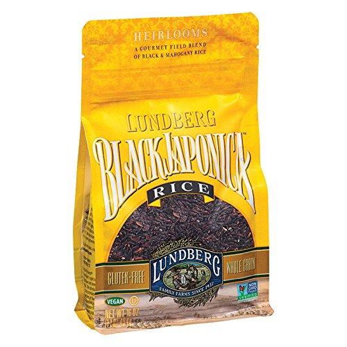 Lundberg Farms Black Japonica Blend Rice, 1 Pound - 6 per case.