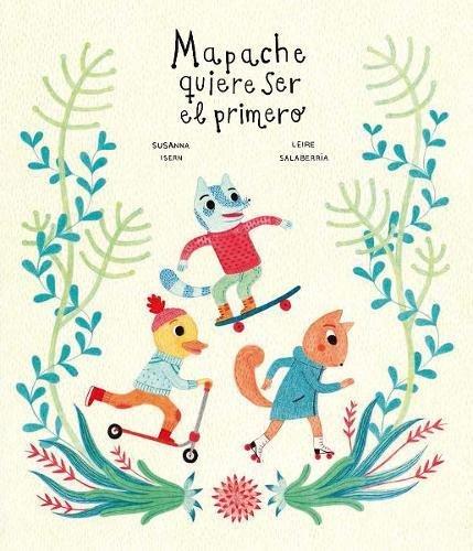 Mapache quiere ser el primero (Español Somos8)