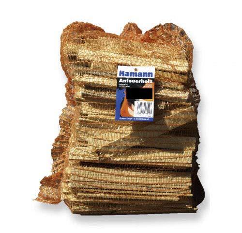 Anfeuerholz 5,0 dm³ reine Holzmasse - eignet sich ideal zum Anfeuern von Holzbriketts oder Brennholz in Ihrem Kamin oder Ofen.