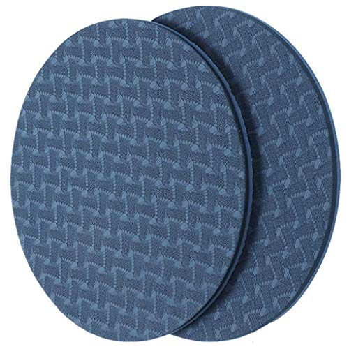 KK Yoga Knee Pad Non Slip 6mm TPE Eco-Friendly Cushion For Hands, Wrists, Elbows and Knee. (Blue)