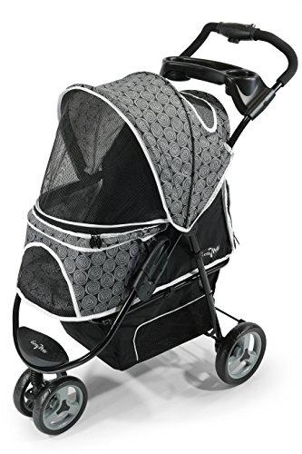 Gen7Pets Promenade Pet Stroller (Black Onyx)