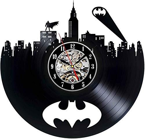 Demonqin Batman Unique Vinyl Record Reloj Vintage