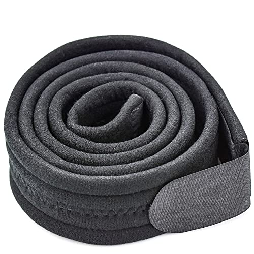 FEIGO Armschlinge, Verstellbar Schulterschlinge Komfortabel Schlinge 175 x 6cm Medizinische Schulterstütze zum Arms, Schulter, Handgelenk Verletzungen Frakturen (Schwarz)