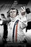 Steve McQueen The Man and Lemans Movie Poster (68,58 x