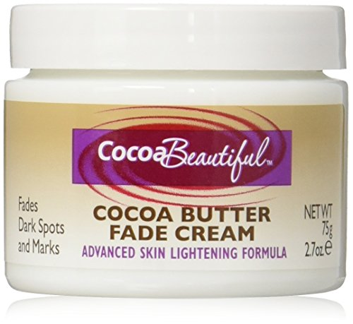 Cocoa Beautiful Cocoa Butter Fade Cream, Advanced Skin Lightening Formula, 2.7 Ounce (Pack of 2)