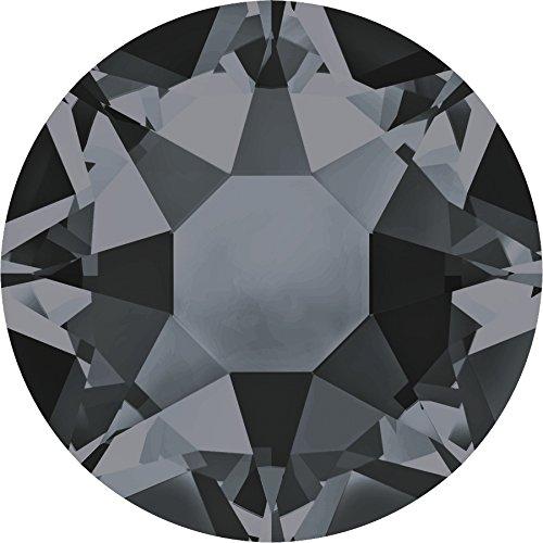 Strasssteine Hotfix von Swarovski Elements / SS16 (3.9mm), Crystal-Silver Night, 100 Stück