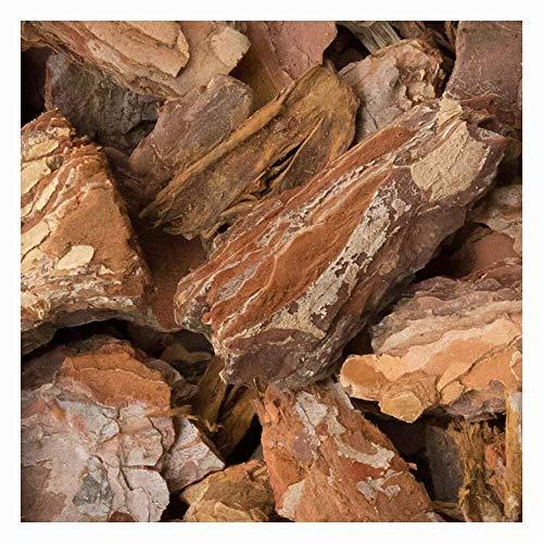 zierkiesundsplitt Rindenmulch Pinienmulch in Big Bag zu 200kg (25-40mm) Pinienrinde