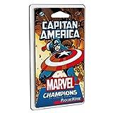 Fantasy Flight Games- Marvel Champions - Capitán América, Color (MC04ES)