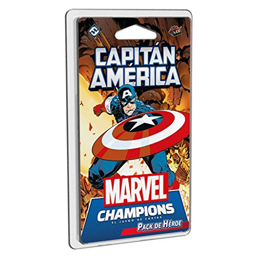 Fantasy Flight Games- Marvel Champions - Capitán América, Color (MC04ES)