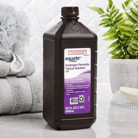 Evaxo 3% Hydrogen Peroxide 32oz Pack of 3.