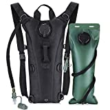 REVO Hydration Pack Backpack with 3L Bladder, Tactical Water Bag for Hiking, Biking, Running, Walking and Climbing
