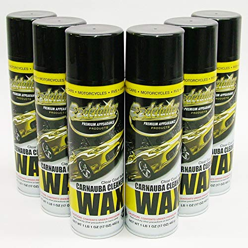 EZ WAX 579221 Premium EZ Detailer Waterless Cleaning Wax 6 Pack
