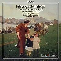 Gernsheim: Violin Concertos by Linus Roth