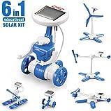 CIRO Solar Roboter 6 in 1 Lernspielzeug 6 Verschiedene Modelle Solar Experiment für Jungen und...