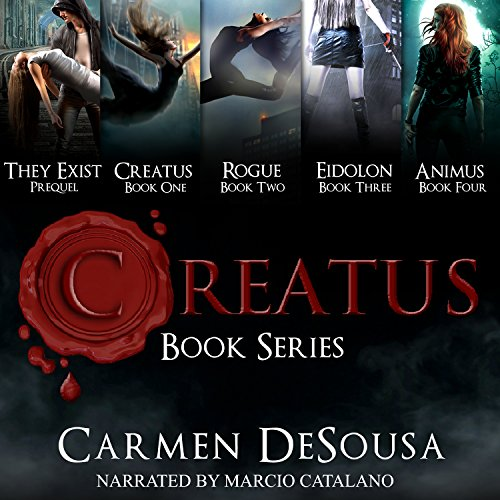 Creatus Series Boxed Set                   By:                                                                                                                                 Carmen DeSousa                               Narrated by:                                                                                                                                 Marcio Catalano                      Length: 27 hrs and 39 mins     6 ratings     Overall 3.2