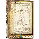 Eurographics 05098 - Leonardo da Vinci: Uomo Vitruviano - Puzzle 1000 Pezzi
