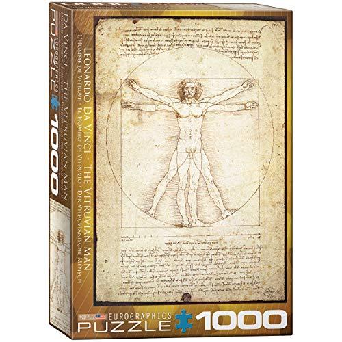 Puzzle 1000 Piezas   Leonardo da Vinci: El Hombre de Vitruvio   05098 de Euro Gráficos