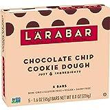 Larabar Gluten Free Bar, Chocolate Chip Cookie Dough, 1.6 oz Bars (5 Count)