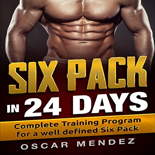 Six-Pack in 24 Days audiobook cover art