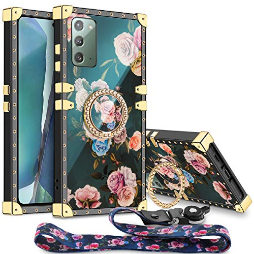Aemotoy for Galaxy Note 20 Case Floral Cute