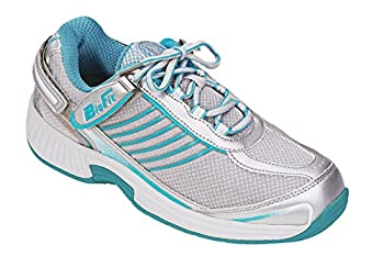 Orthofeet Proven Plantar Fasciitis and Foot Relief Extended Widths Bunions Orthopedic Walking Shoes Diabetic Arch Support Women s Sneakers Verve Turquoise