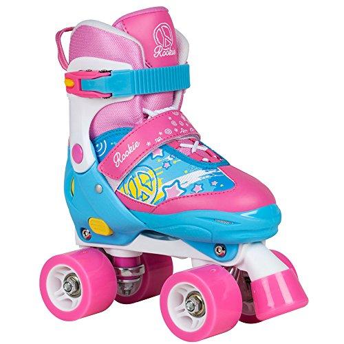 Rookie Fab RKE-SKA Kinder-Rollschuhe Blue/Pink Gr. 30.5-34 (US 1-3)