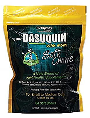 Nutramax Dasuquin with MSM Soft Chews Small/Medium Dog 84 Count