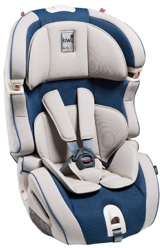 Kiwy 14103KW02B Child Car Seat Group 1/2/3 with Isofix 9-36 kg Ocean