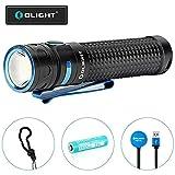 OLIGHT Baton Pro LED Taschenlampe 2000 Lumen, 132 Meter Reichweite, 9 Tage Laufzeit, USB Aufladbare...