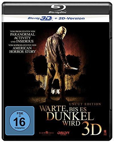 Warte, bis es dunkel wird (Uncut) [3D Blu-ray + 2D Version]