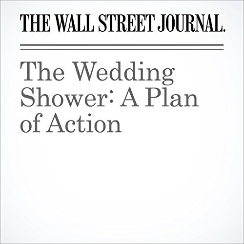 The Wedding Shower: A Plan of Action audiobook cover art