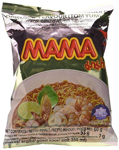 Mama Instant Nudeln Tom Yum Garnelen 60g, 45er Pack (45 x 60 g)