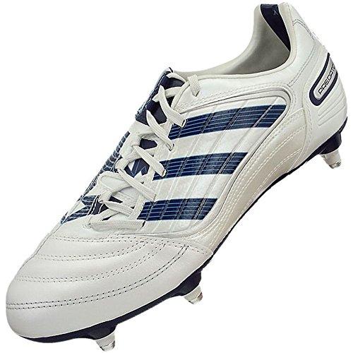 Adidas Predator Absolado X SG - Botas de fútbol de sintético para hombre blanco blanco, color blanco, talla 40.5