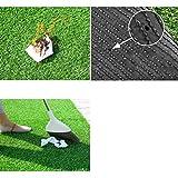 YXZQ Tappeto erboso da Giardino Artificiale Altezza 35 mm, Simulazione Plastica Verde Prato Finto Tappeto per Esterni Decorazione per Asilo per Matrimoni al Coperto