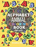 """ABC Alphabet Animal Coloring Book For Kids: A Fun Game for 3-8 Year Old   Picture For Toddlers & Grown Ups   Letters,Shapes,Color Animals 8.5 x 11""""   29 Pages"""